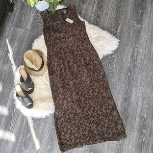 BANANA REPUBLIC - NWT Sleeveless Silk Maxi Dress